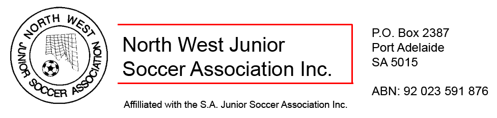 NWJSA – North West Junior Soccer Association